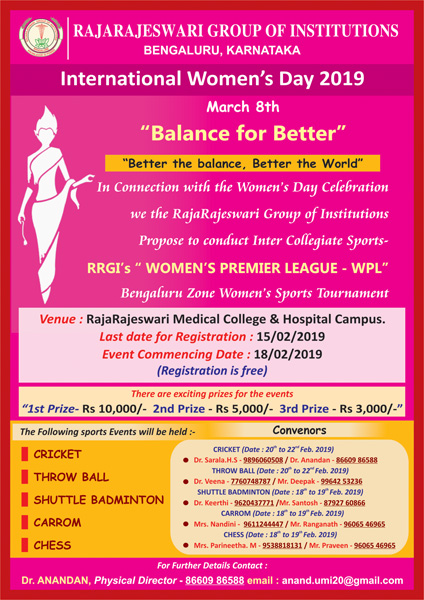 Womens Day Celebration 2019